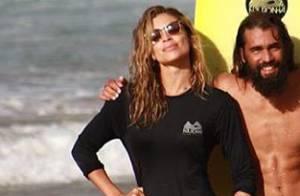 Grazi Massafera ganha elogios ao mostrar aula de surfe em Noronha: 'Que corpo!'
