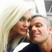 Flávia Alessandra brinca sobre relação com marido após cabelo loiro: 'Domadora'