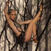 Mariana Ximenes canta e levita como vedete em 'Joia Rara':'E vai ter muito fogo'