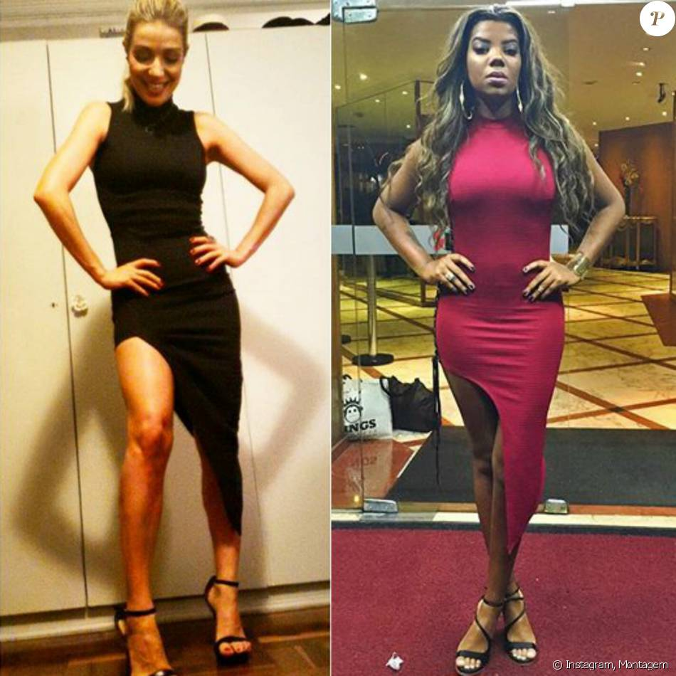 16388099c Luiza Possi postou foto no Instagram exibindo look da marca Tigresse nesta  terça-feira,