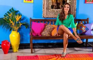 Ivete Sangalo exibe pernas em sessão de fotos para campanha