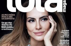 Cleo Pires, a Bianca de 'Salve Jorge', faz cara de pensativa em capa de revista