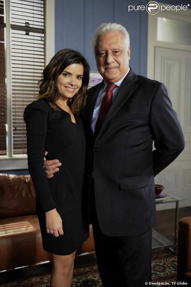 Aline (Vanessa Giácomo) sugere a César (Antonio Fagundes) que os dois tenham um filho, em 'Amor à Vida', em 6 de setembro de 2013