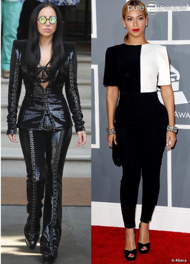Lady Gaga e Beyoncé encabeçam a lista da revista 'Vanity Fair', que elegeu as 10 cantoras mais bem vestidas do mundo