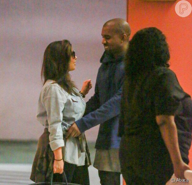Kim Kardashian e Kanye decidiram não deixar a filha, North, usar roupas rosas