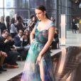 Fernanda Tavares desfile para a grife da estilista Lethicia Bronstein