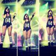 As camisas com número na frente são o novo sucesso no estilo de Anitta. Seus fãs por todo o Brasil a copiam e compram em sua loja online