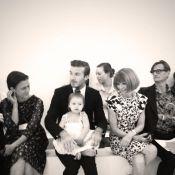 Harper, filha de Victoria e David Beckham, encanta Anna Wintour em desfile