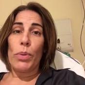 Gloria Pires passa mal e desfalca desfile da Portela: 'Foi muita emoção'. Vídeo!