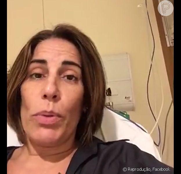 Gloria Pires passa mal e desfalca desfile da Portela: 'Foi muita emoção', nesta terça-feira, 9 de fevereiro de 2016