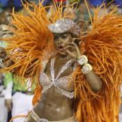 Cris Vianna, rainha da Imperatriz, usa figurino de R$ 60 mil em desfile. Fotos!