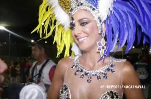 Ticiane Pinheiro explica ausência do namorado em desfile: 'Plantão'. Vídeo!