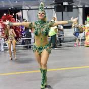 Viviane Araújo, rainha de bateria no Carnaval de SP, volta à elite: 'Em 2017!'