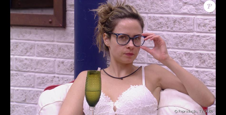 Ana Paula venceu a falsa eliminação e não poupou críticas às atitudes dos brothers enquanto assistia ao 'BBB16' nesta terça-feira, 9 de fevereiro de 2016.