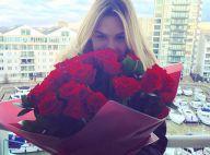Fiorella Mattheis ganha rosas de Alexandre Pato em Londres: 'Meu aniversário'