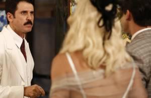 'Êta Mundo Bom!': Celso desmascara Ernesto para Sandra. 'Explorador de mulheres'
