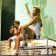 Ivete Sangalo é mãe de Marcelo, que já chegou a dar algumas canjas no palco da morena