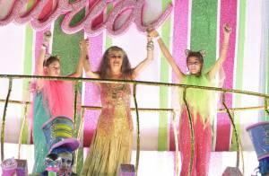 Ivete Sangalo e mais famosos vibram com vitória da Mangueira no Carnaval do Rio