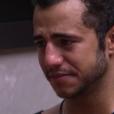 Matheus chorou ao falar sobre o reality e suas discussões com a youtuber: 'Eu não vou mudar por causa do jogo. 'Big Brother' pra mim não é aventura, é sonho. Então quando você me cobra de alguma coisa eu penso, cara que besteira'
