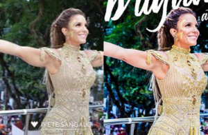 Ivete Sangalo posta foto com suposto Photoshop e fãs defendem: 'Ela pode'