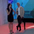 Monica Iozzi e Otaviano Costa cantaram ao vivo na despedida da apresentadora do 'Vídeo Show'