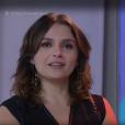 Monica Iozzi não segura a emoção durante despedida do programa 'Vídeo Show'