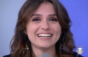 Monica Iozzi canta e chora ao se despedir do 'Vídeo Show': 'Vou sentir saudade'