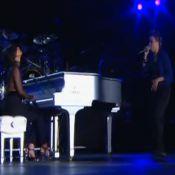 Rock in Rio: Maria Gadú volta a fazer dueto com Alicia Keys com 'Fallin'