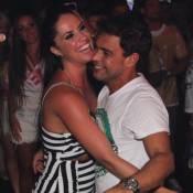 Zezé Di Camargo e Graciele Lacerda dançam em camarote após desfile da Imperatriz