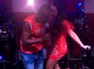 Fernanda Souza sobe no palco do show de Thiaguinho e dança com o marido. Vídeos!