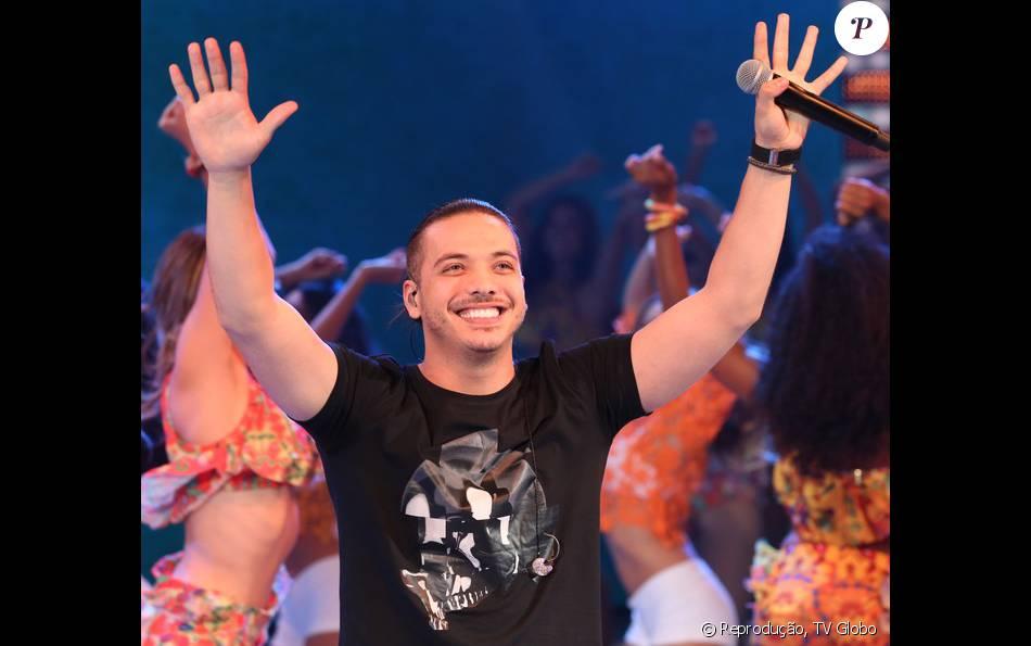 Wesley Safadão relembra início da carreira como dançarino do Garota Safada, no 'Domingão do Faustão', em 14 de fevereiro de 2016