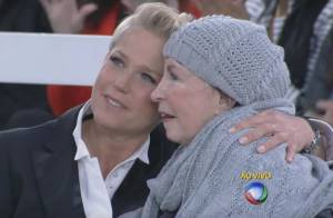 Com a mãe hospitalizada, Xuxa pede orações aos fãs: 'Rezem por minha Aldinha'