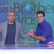 Joaquim Lopes substitui Monica Iozzi no 'Vídeo Show' e fãs pedem: 'Volta, Iozzi'