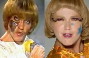 Xuxa vira Pablo, do 'Qual é a Música', na TV e internautas criticam: 'Ridículo'