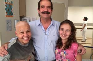 Claudia Rodrigues lamenta boatos de sua morte na web: 'Pessoas sem escrúpulos'