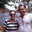 Isis Valverde e o turismólogo Genilson Aragão