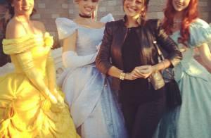 Grávida, Juliana Paes festeja o aniversário de 2 anos do filho, Pedro, na Disney