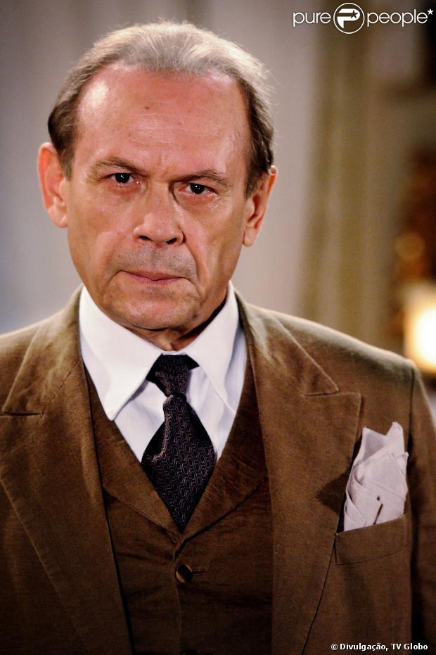 O último papel de José Wilker em novelas foi o coronel Jesuíno, de 'Gabriela', em 2012, também escrita por Walcyr Carrasco