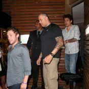 John Mayer e Phillip Phillips, atrações do Rock in Rio, jantam juntos no Rio
