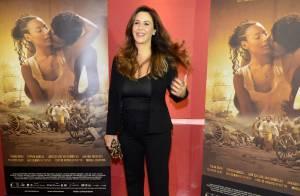 Guilhermina Guinle vai à estreia de seu filme após dar à luz a primeira filha
