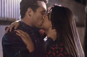 'Amor à Vida': veja o beijo de Daniel e Perséfone após pedido de casamento
