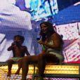 Marcelo Sangalo fez sucesso com os fãs da mãe e ainda pediu para que todos o acompanhassem na música
