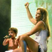 Ivete Sangalo está em festa! Marcelo, seu filho com Daniel Cady, completa 4 anos