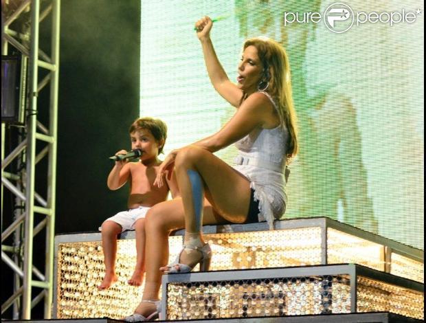 Marcelo Sangalo, filho da cantora Ivete Sangalo com o nutricionista Daniel Cady, comemora 4 anos nesta quarta-feira, 2 de outubro de 2013