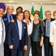 Roberto Carlos viajou para Brasília recentemente e junto com outros artistas foi ao Palácio do Planalto pedir a aprovação de mudanças na arrecadação do Ecad