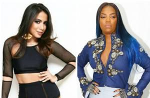 Anitta nega ter barrado Ludmilla em sua festa e avisa que vai recebê-la na TV
