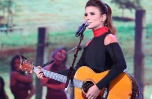 Paula Fernandes cria mal-estar com direção da Globo após saia justa com Faustão