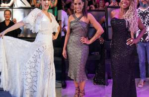 Ana Paula, Adélia e Juliana apostam em looks glamourosos na final do 'BBB16'