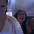'BBB16': Munik é recebida pela mãe, Doracy Nunes, e por Ana Paula