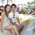 Gabriel Falcão e Bianca Salgueiro são muito amigos na vida real